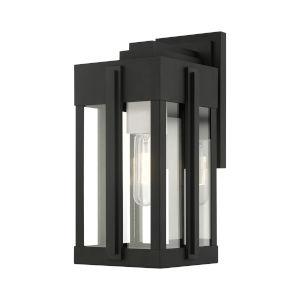 Lexington Black One-Light Outdoor Wall Lantern