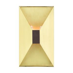 Lexford Satin Brass  Two-Light ADA Wall Sconce