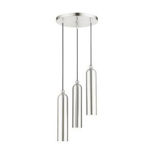 Ardmore Brushed Nickel Three-Light Pendant