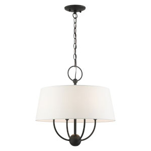 Ridgecrest Black Four-Light Chandelier