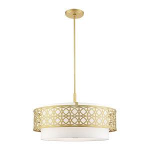 Calinda Soft Gold Five-Light Chandelier