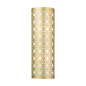 Calinda Soft Gold 6-Inch Two-Light ADA Wall Sconce