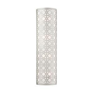 Calinda Brushed Nickel  Four-Light ADA Wall Sconce
