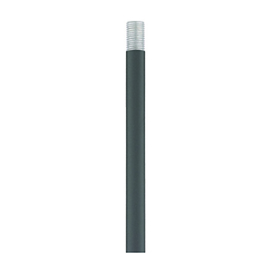 Accessories Scandinavian Gray 12-Inch Rod Extension Stem with 0.5-Inch Diameter