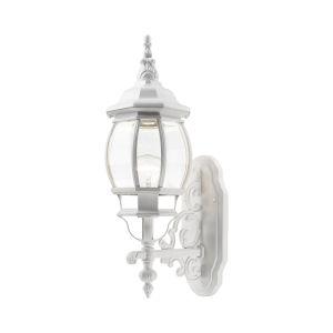 Frontenac Textured White One-Light Outdoor Wall Lantern