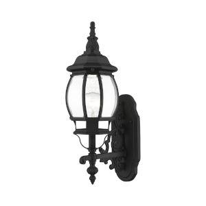 Frontenac Textured Black One-Light Outdoor Wall Lantern