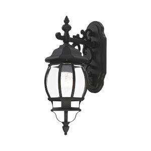 Frontenac Textured Black One-Light Outdoor Wall Sconce