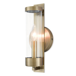 Castleton Antique Brass One-Light Wall Sconce