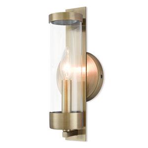 Castleton Antique Brass One-Light Wall Sconce