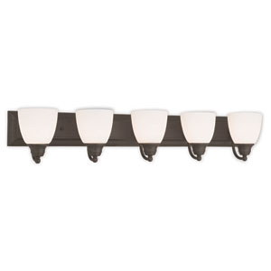 Springfield Bronze 36-Inch Five-Light Bath Light