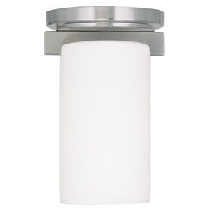 Astoria Brushed Nickel One Light Ceiling Mount