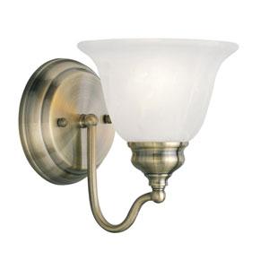 Essex Antique Brass 6.5-Inch One-Light Bath Light