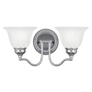 Essex Chrome 15.5-Inch Two-Light Bath Light