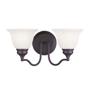 Essex Bronze 15.5-Inch Two-Light Bath Light