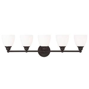 Somerville Bronze 34-Inch Five-Light Bath Light