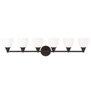 Somerville Bronze 42-Inch Six-Light Bath Light