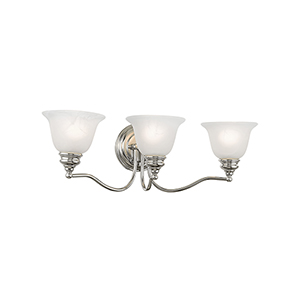 Essex Chrome 24-Inch Three-Light Bath Light