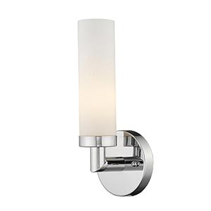 Aero Chrome 4.5-Inch One-Light Bath Sconce