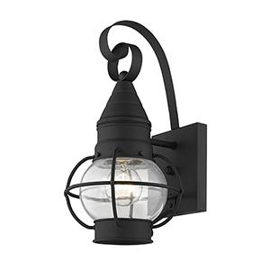 Newburyport Black One-Light 7-Inch Wall Lantern