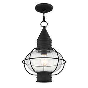 Newburyport Black One-Light 12-Inch Lantern