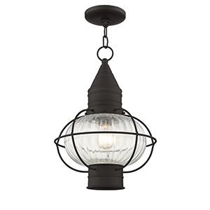 Newburyport Bronze One-Light 12-Inch Lantern