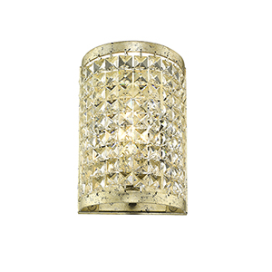 Grammercy Winter Gold One-Light 6-Inch Wall Sconce