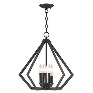 Prism Bronze Five-Light Pendant