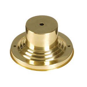 Polished Brass Outdoor Pier Mount Adaptors
