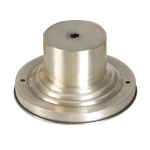 Brushed Nickel Outdoor Pier Mount Adaptors