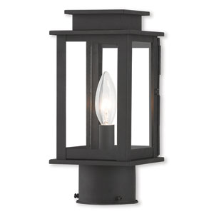 Princeton Black One-Light 5-Inch Post Lantern