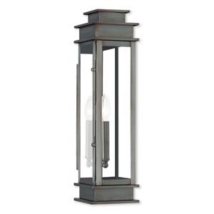 Princeton Vintage Pewter One-Light 5-Inch Wall Lantern