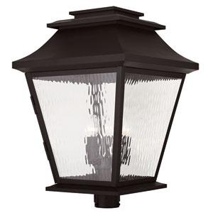 Hathaway Bronze 18-Inch Five-Light Outdoor Post Lantern