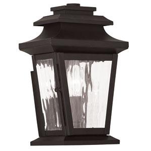 Hathaway Bronze 6.5-Inch One-Light Outdoor Wall Lantern