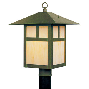 Montclair Mission Verde Patina One-Light Outdoor Fixture