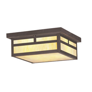 Montclair Mission Bronze Outdoor Flush Mount