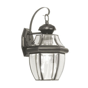 Monterey Black One-Light Outdoor Fixture