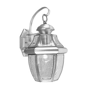 Monterey Brushed Nickel One-Light Outdoor Fixture