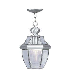 Monterey Brushed Nickel One-Light Outdoor Pendant