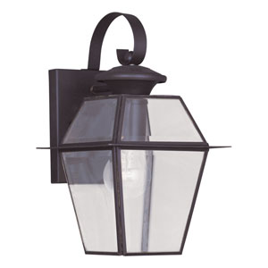 Westover Bronze One-Light Outdoor Wall Lantern