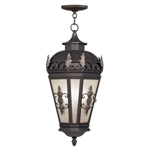 Berkshire Bronze Three-Light Outdoor Pendant