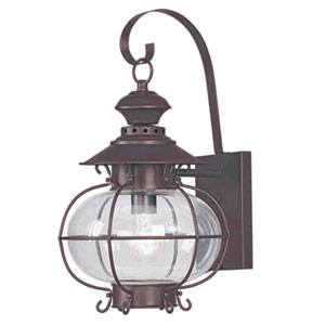 Harbor Bronze Outdoor Wall Lantern