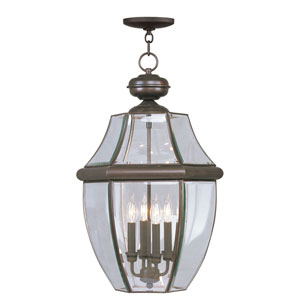 Monterey Bronze Four-Light Outdoor Pendant