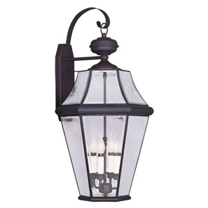Georgetown Bronze Four-Light Outdoor Wall Lantern