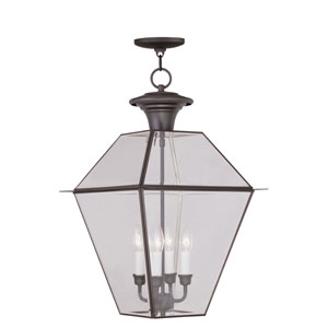 Westover Bronze Four-Light Outdoor Chain Hang
