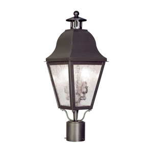 Amwell Bronze Two-Light Outdoor Fixture
