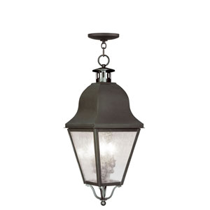 Amwell Bronze Outdoor Hanging Pendant