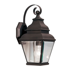 Exeter Bronze One-Light Outdoor Fixture