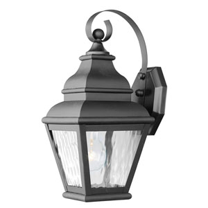 Exeter One-Light Outdoor Wall Mount