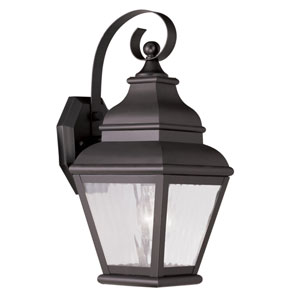 Exeter Bronze Outdoor Wall Sconce