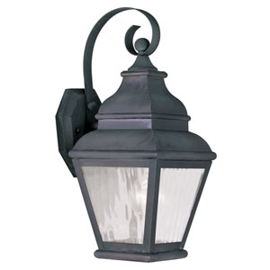Exeter Charcoal Outdoor Wall Sconce